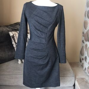 MILLY Grey/Charcoal Dress. Size Medium. Worn once.